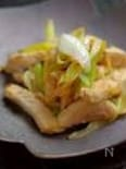 豚肉と長ネギの塩ガーリック炒め