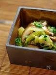 白菜と椎茸のお浸し
