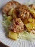 チキンとじゃが芋のハニーマスタード