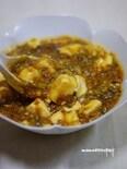 たっぷりキャベツのソース麻婆豆腐