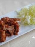 豚肉の林檎チャップ