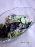 キュウリともやしの海苔サラダ