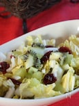 白菜とフルーツのクリスマスサラダ