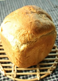 『ホームベーカリーで♪黒みつきなこ食パン』