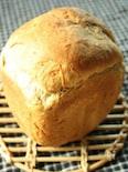 ホームベーカリーで♪黒みつきなこ食パン