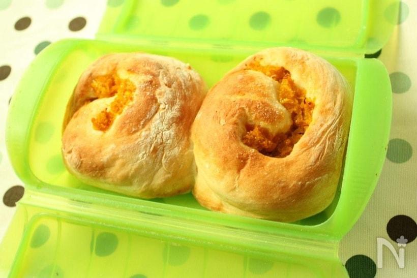 6. レンジで作るかぼちゃペーストパン