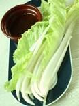白菜サラダnoバーニャカウダ