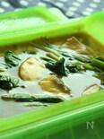 ルクエで作る♪鱈と小松菜のカレー