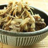 【節電レシピ】簡単常備菜・牛肉と新ごぼうの炒り煮