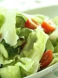 夏野菜のレモン味チョレギサラダ