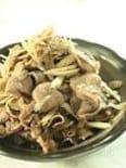 牛肉とごぼうの味噌炒め