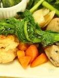 鶏団子とお野菜の甘酢あんかけ