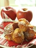 ホットケーキミックスで作る☆りんごのベニエ