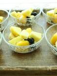 季節のフルーツりんご酢マリネ