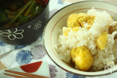 栗 レシピ 焼き