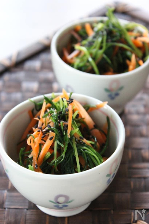 サラダに和え物に大活躍!おかひじきの人気レシピ20選の画像