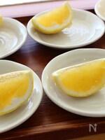 皮ごと作る☆柑橘類のゼリー