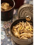 【ストウブミニココット】牡蠣と舞茸の釜めし