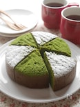 グルテンフリー!米粉の抹茶ガトーショコラ