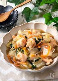 『野菜たっぷり♡ごはんが進む『海老の中華野菜炒め』』