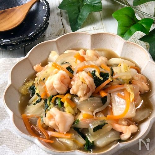 野菜たっぷり♡ごはんが進む『海老の中華野菜炒め』