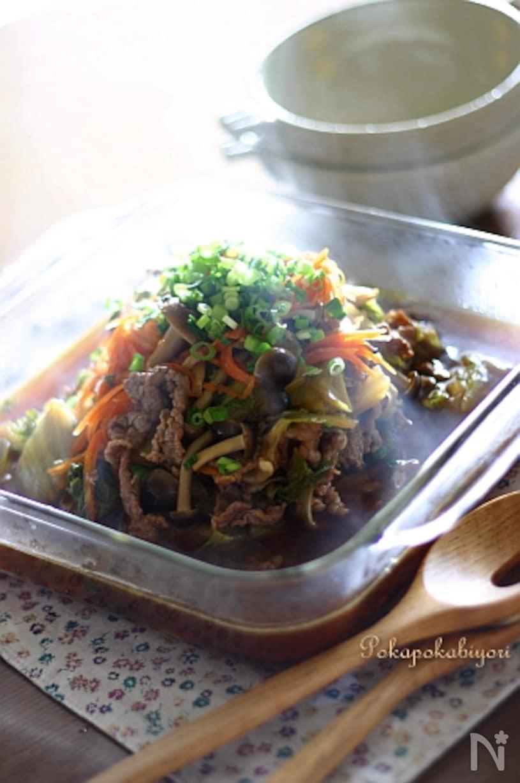 白菜すき煮