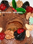 クリスマスリース・チョコレートケーキ