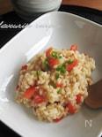 お味噌とトマト!の和風リゾット