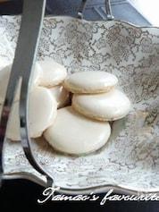 マカロン風メレンゲ菓子