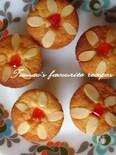 かわいいお花のカップケーキ!