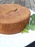マロンクリームのケーキ