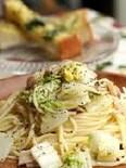 【白菜とアンチョビのペペロンチーノ】