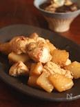 【鶏肉のゴマ味噌炒め】
