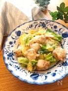 子供にも人気♡ベビーホタテと春キャベツの中華クリーム煮