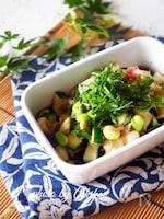 【夏野菜で作り置き】茄子ときゅうりの薬味だし