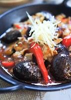 調味料で旨味プラス★茄子と豚三枚肉のコク旨味噌煮