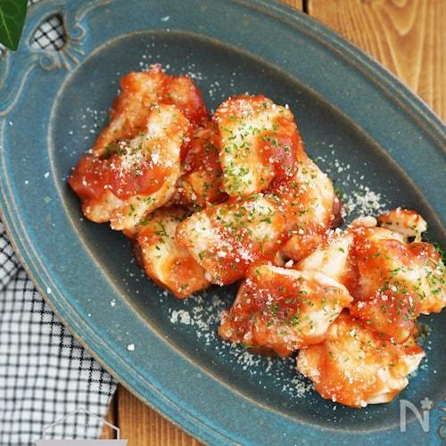 【10分】ご飯がすすむ人気おかず♪鶏むね肉のチキンチャップ