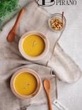 かぼちゃとクルミのポタージュスープ♪