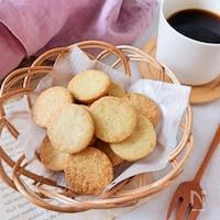 サクサクパリパリ♡セサミクッキー