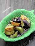 素麺つゆで作る「茄子の揚げ炒めびたし」