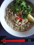 トン塩パクチー麺