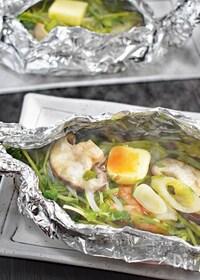 『【簡単】鮭のホイル焼き〜バタぽんごま風味〜』