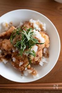 鶏唐のおろしポン酢がけ【唐揚げはお弁当にも!】