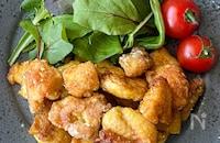 鶏むね肉で簡単!コロコロカレーチキン