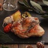 焼くだけ簡単♪丸ごとチキンと野菜のオーブン焼き。ジューシー!