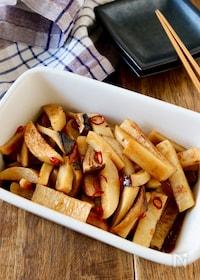 『【らくレピ】作り置き*長芋とエリンギのぽん酢マリネ』