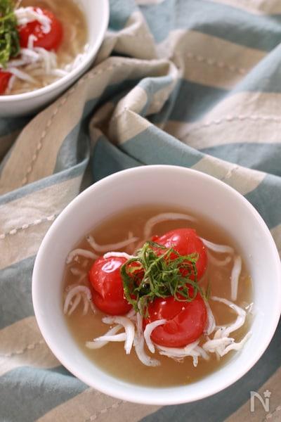 味噌汁 トマト