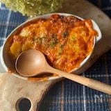 ブイヤベース用スープで簡単クリーミーグラタン