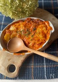 『ブイヤベース用スープで簡単クリーミーグラタン』