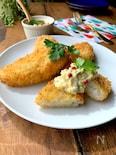 騙されるのはダレ⁈なんちゃって白身魚フライタルタルソース